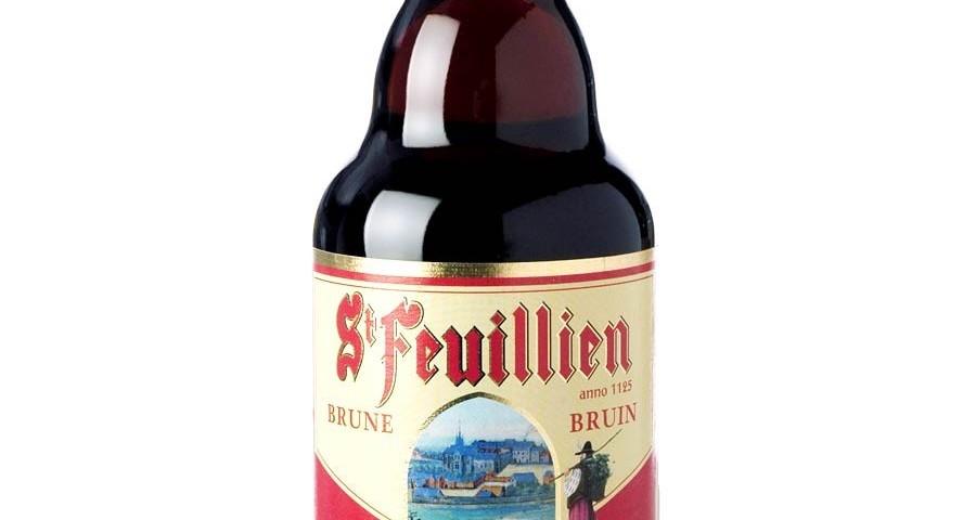 St Feuillien brune (33 cl.)