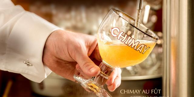 La Chimay Blanche au fût !